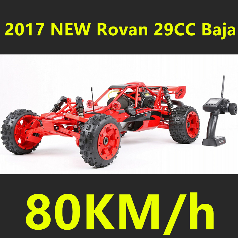 2017 New Style Upgraded Rovan 1/5 Scale Gasoline RC BAJA High-strength Nylon Frame 29CC Engine Warbro668 Symmetrical Steering straight row 29cc piston for high speed 29cc gasoline engine zenoah parts rc boat