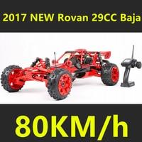 2017 New Style Upgraded Rovan 1/5 Scale Gasoline RC BAJA High strength Nylon Frame 29CC Engine Warbro668 Symmetrical Steering