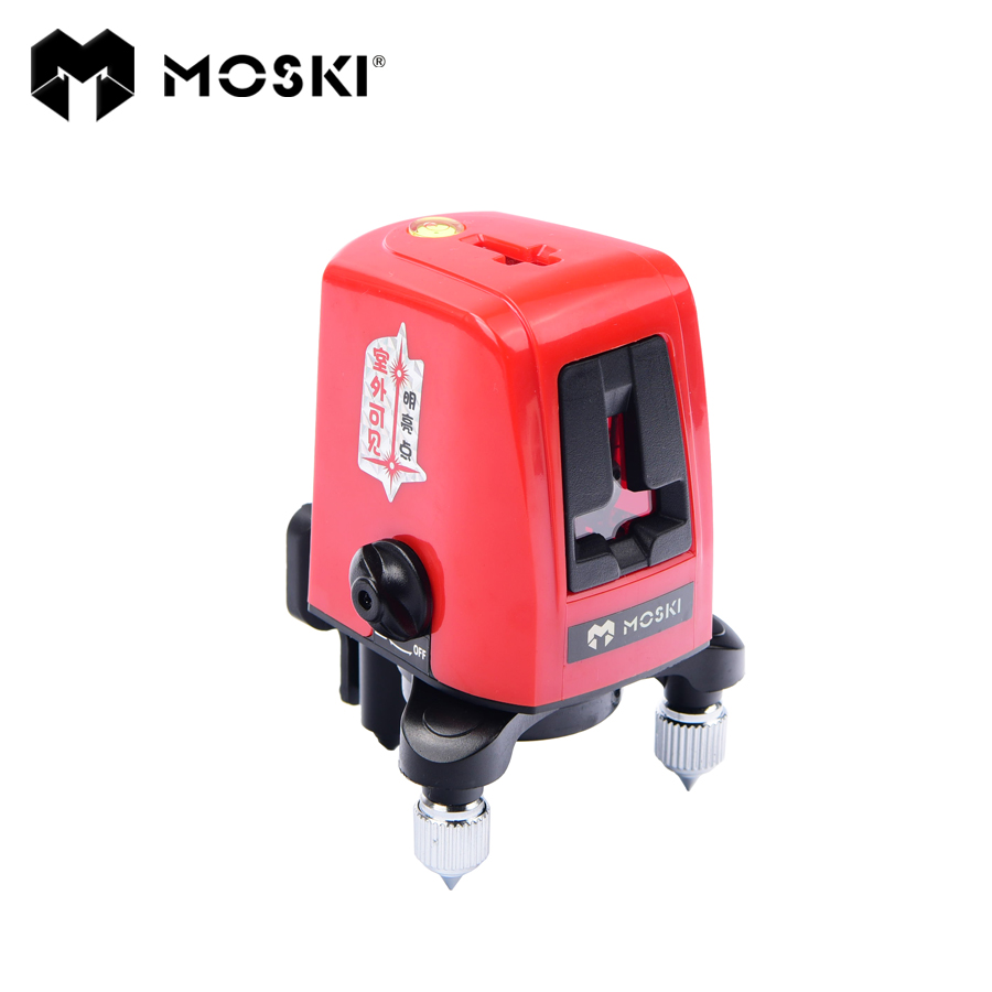 Moski 3 Lines 3 Points 360degree Self Leveling Cross