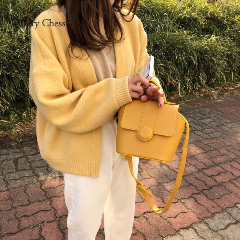 Cherry Chesse Sweet Knitted Cardigans Sweater Long Sleeve Open Stitch Tops Women Autumn Winter Sweater
