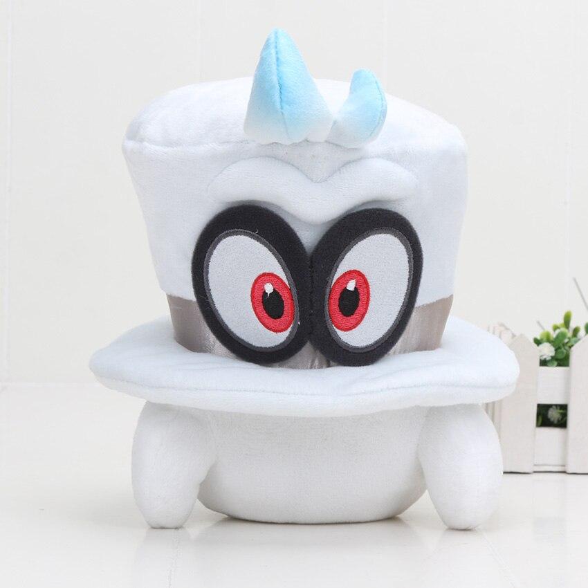 20cm Super Mario Bros Odyssey Cappy Plush Toy Stuffed Soft Doll Christmas Gifts