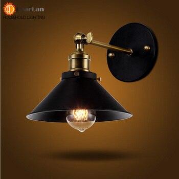 Schlafzimmer Leselampen | Amerikanischen Vintage Wand Lampe Innen Beleuchtung Nacht Lampen Retro Wand Lichter Für Leseraum Schlafzimmer Hause Freies Verschiffen (BG-70)