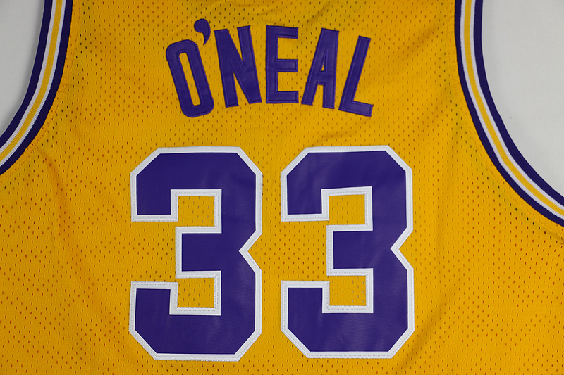 4b1243bf724 ... LANSHITINA shaquille oneal jersey 33 LSU Tigers College Basketball  Jerseys Shaquille Oneal Yellow Purple Throwback Jersey ...