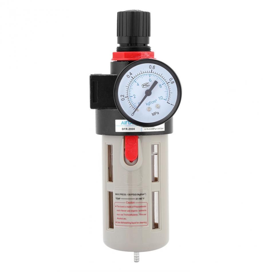 Walfront Air Control Compressor Pressure Regulator Valve Br3000 G3 8 For Cutting Machine Gas Circuit View Filter 1 4 Bfr 2000 Source Treatment Unit