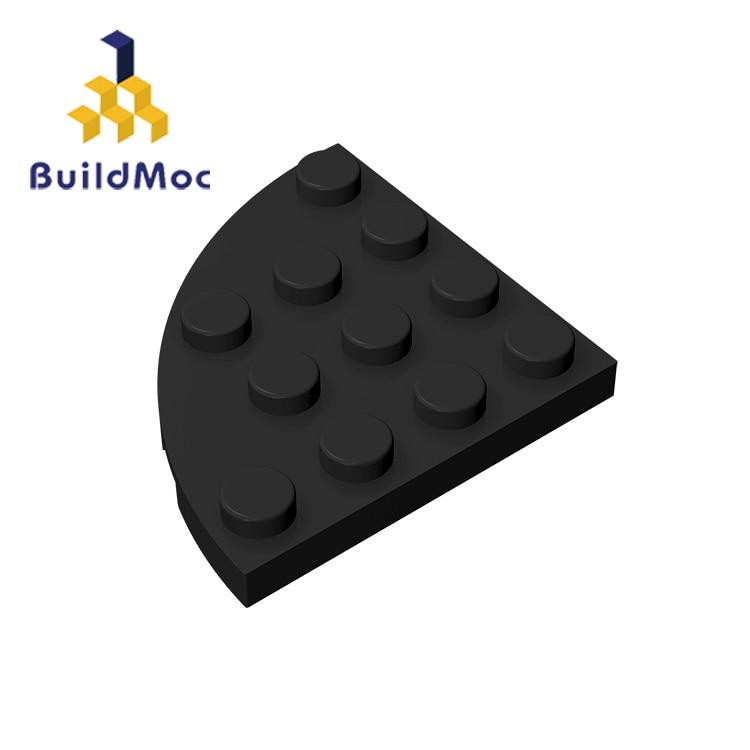 BuildMOC Compatible Assembles Particles 30565 4x4For Building Blocks Parts DIY LOGO Educational Creative Gift Toys