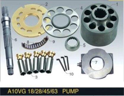 Rexroth series Piston Pump Parts A10VG63 plunger pump cylinder block valve plate