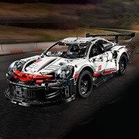 Super Racing Car RSR Sets 1580 pcs Compatible with legoings building block kits Technic MOC Series 42096 Building Blocks Toys