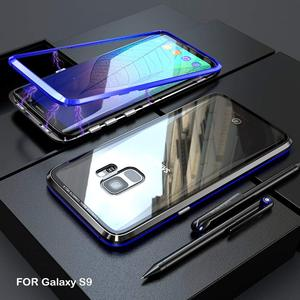 Image 4 - Suntaiho Magnetic Adsorption Case For Samsung S8 S9 Plus Note 8 S7 Edge Tempered Glass Cover For iPhone X 7 8 Huawei P20 Oneplus