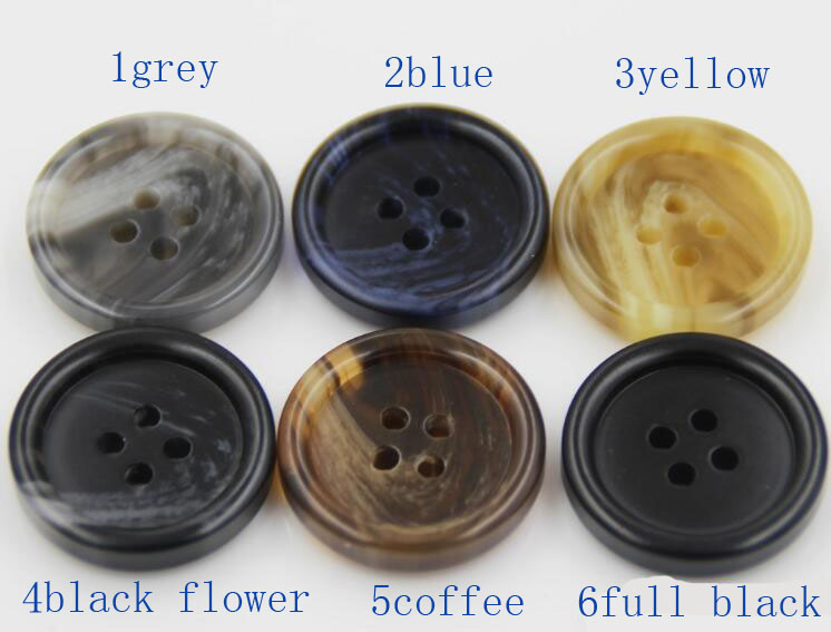 50pcs man Resin Top coat buckle windbreaker button suit button in Buttons from Home Garden