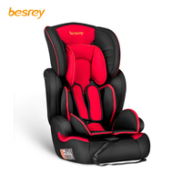 Besrey 3 in 1 Child Car Seat Car Seat Adjustable Infant Safety Car Seat 5 Point Harness 9 36 Kg ECE R44 / 04