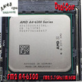 AMD APU A4-6300 CPU 3,7 Ghz L2=1M 65 Watt   FM2 AD6300OKA23HL NEW desktop processor (Working100% Free shipping)