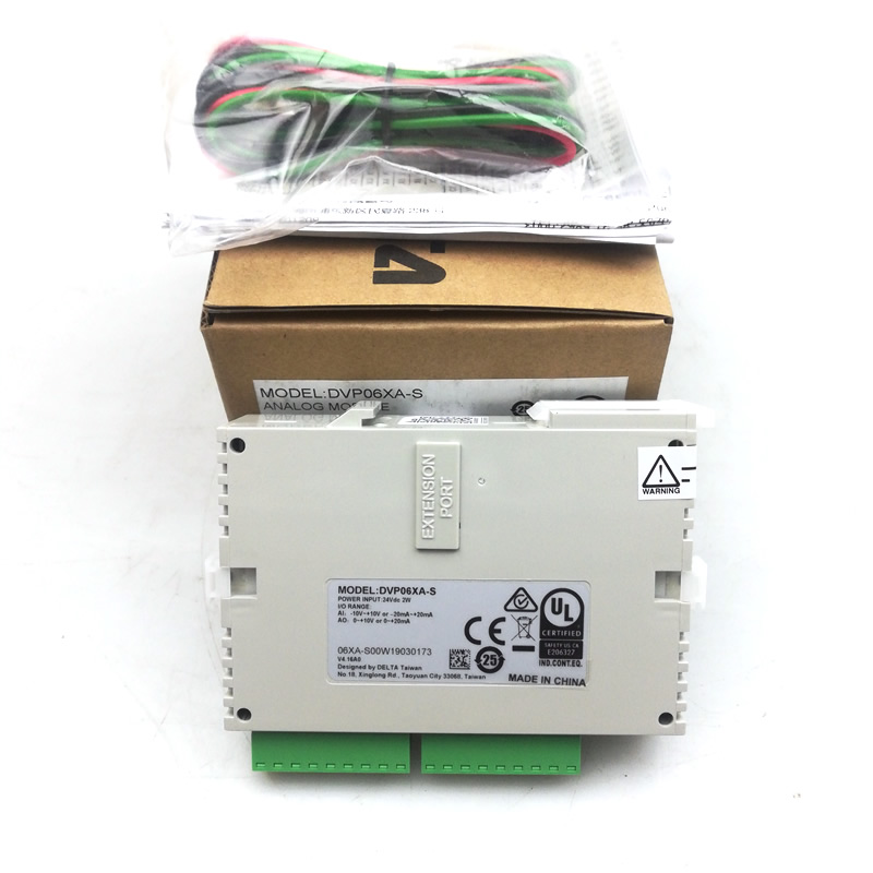 Original and New Delta PLC Analog module DVP04AD S DVP06AD S DVP02DA S DVP04DA S DVP06XA