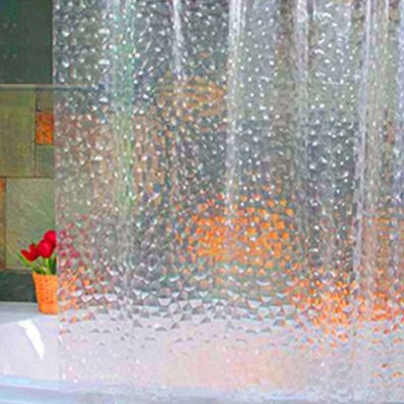 Clear Shower Curtain Promotion-Shop for Promotional Clear Shower ...