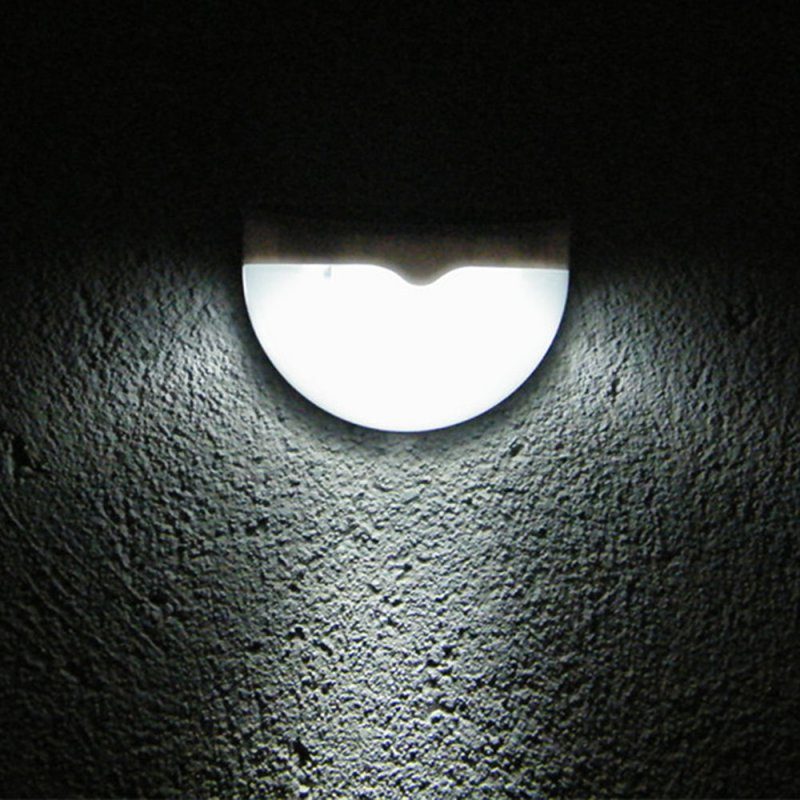 LED Garden Light Solar led Panel Lamp Sensor Waterproof mounted Outdoor Fence Wall Lamp Lighting