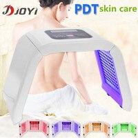 2016 portable pdt led photon light therapy facial rejuvenation blue light acne removal beauty care machine