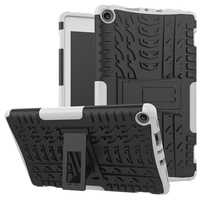 Shockproof Case For New Fire HD 8 2016 Kickstand Rugged PC TPU Dual Layer Armor Cover