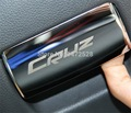 1 Pcs DIY Carro Novo Estilo Caixa De Luva Pega Remendo capa De Armazenamento Copiloto Fecho Mãos Caso Adesivos para Chevrolet Cruze acessórios