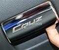1 Unids DIY Coche Nuevo Estilo Guantera Mango Parche cubierta de la Caja de Almacenamiento Copiloto se Dan la Mano Pegatinas para Chevrolet Cruze accesorios