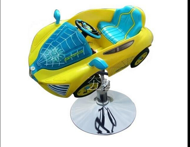 The New Children's Cartoon Haircut Chair. Children's Music Haircut. Children's Car Barber Chair