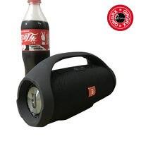 Portable Boom Box Outdoor HIFI Bass Column Speaker Wireless Bluetooth Speaker Subwoofer Sound Box with FM Radio TF Mp3 Player