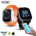 Bluetooth z9 smart watch bt-notificación anti-perdida reloj para iphone 4/4s/5/5s samsung s4/note 2/note 3 mtk teléfono android