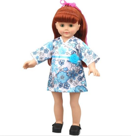 ✓Envío libre! Caliente 2014 nuevo estilo 18 muñeca chica americana ...