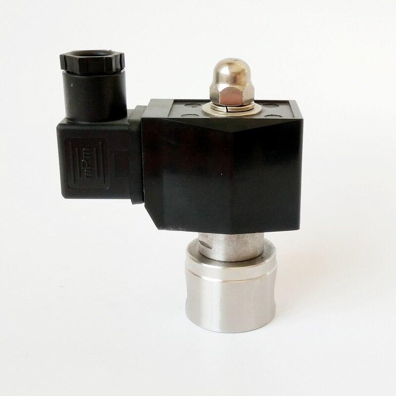 Ventil Diplomatisch 1/4 3/8 2/2 Weg Edelstahl Luft Wasser Verwenden Schließer Magnetventil