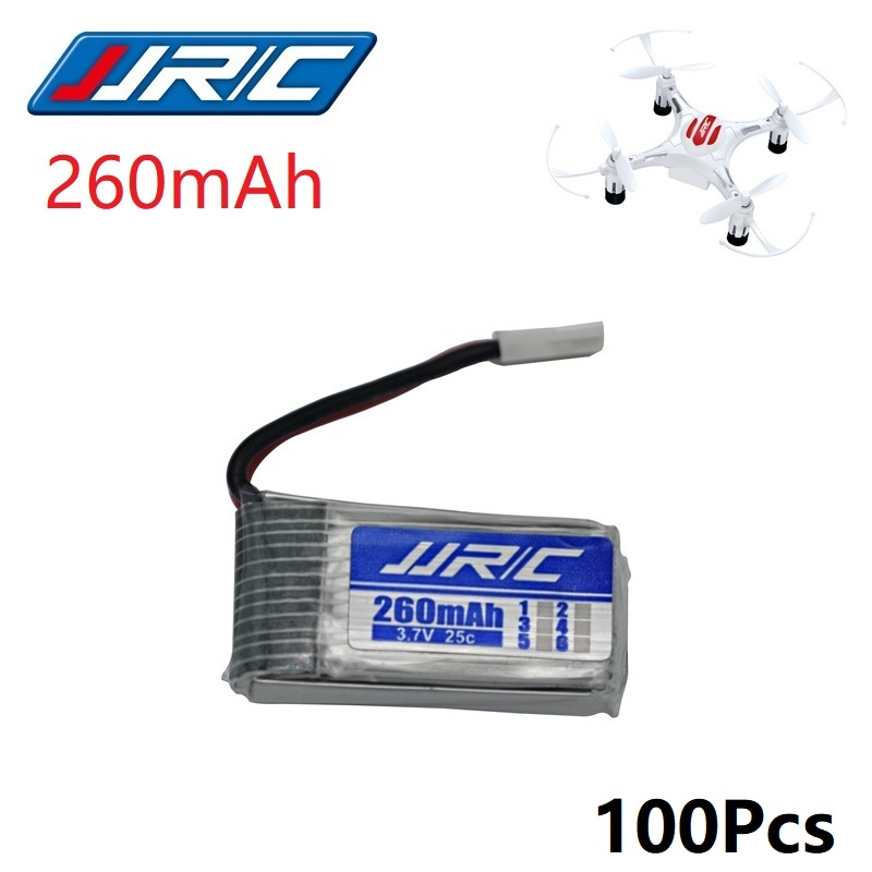 JJRC H8 Mini Original Battery 3.7V 150mAh 260mAh Lipo Battery for Eachine H8 JJRC H8Mini RC Quadcopter drone part wholesale 5x 3 7v 150mah 20c battery and usb cable set for jjrc h20 rc quadcopter 3 7v 150mah 20c battery rc helicopter parts