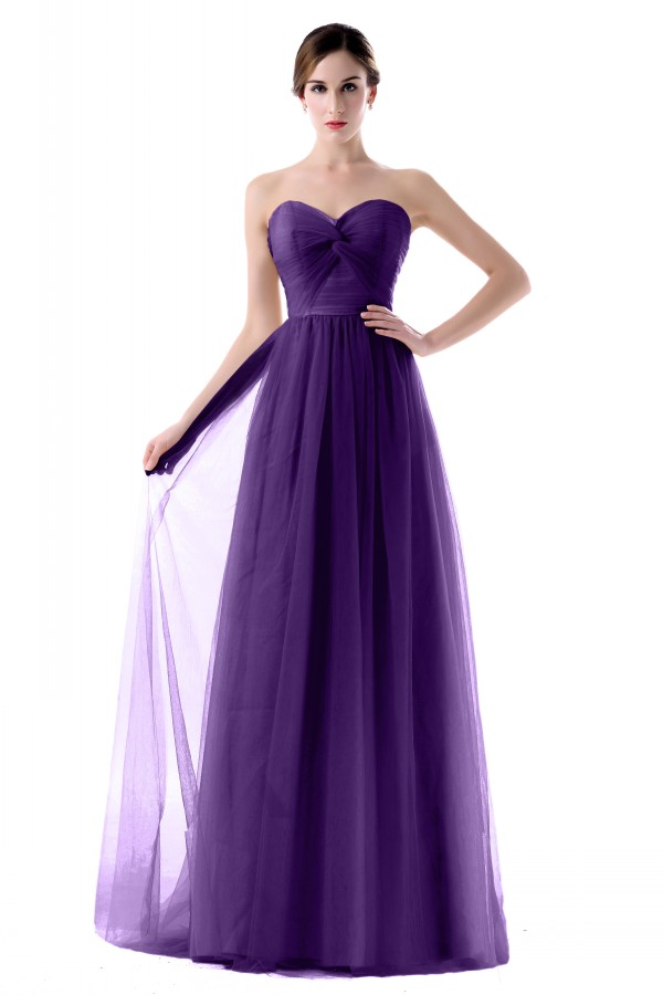 Buy 2017 tulle purple green lilac yellow for Cheap wedding dresses for guests
