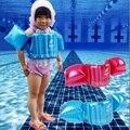 Chaleco Inflable de la Nadada del niño Del Brazo Anillo de Natación Círculo Infantil Del Flotador Del Cuello del Anillo del Flotador del Bebé Entrenador de Natación Piscina Accesorios