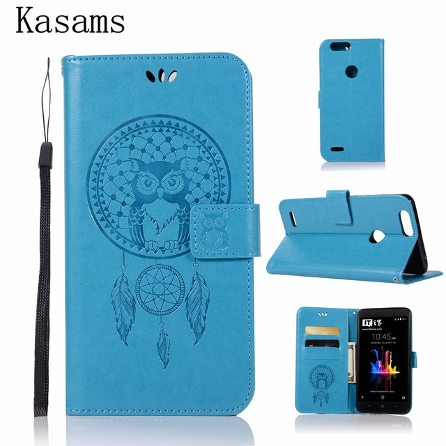 best sneakers eae84 18763 For ZTE Blade Z Max Leather Case For ZTE Blade Z Max ZMax Z982 Flip ...