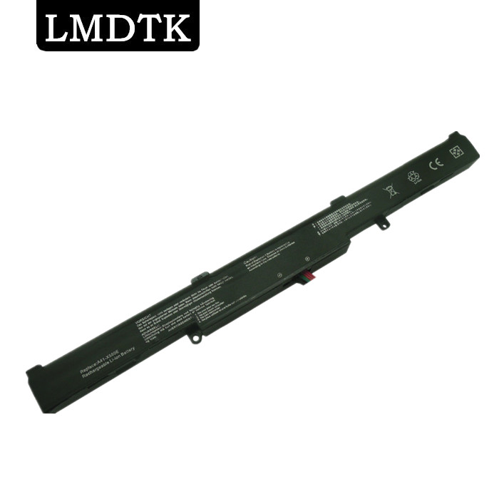 LMDTK New 4 CELLS laptop battery For ASUS A41-X550E R752LB R752M R752L R751J P750L P750L F751LX F751L X751MA X751LA X751L