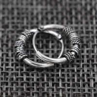 2019 kommen GD Vintage Spirale spule Ohrring Frauen Männer Jewery Box Verpackung 19012