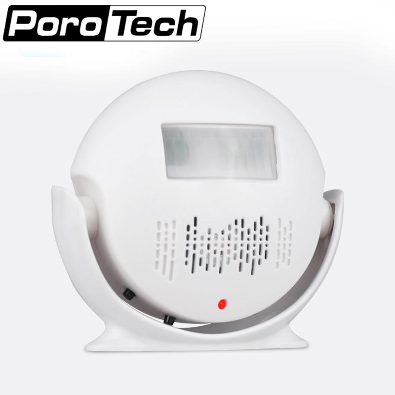 M-V3 Wireless door PIR Motion Sensor Doorbell Automatic Door Bell Audio Player Welcome Chime Door Bell Detector Alarm wireless door bell guest welcome alarm chime pir motion sensor security doorbell infrared detector