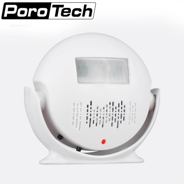 US $16 0 20% OFF|M V3 Wireless door PIR Motion Sensor Doorbell Automatic  Door Bell Audio Player Welcome Chime Door Bell Detector Alarm -in Doorbell