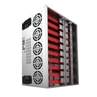 Crypto Moneda Marco de la Minería a cielo Abierto Plataforma Gráfica ATX Caso Fit 12 GPU Etéreos ETH ETC ZEC XMR para ITX Placa Base MicroATX ATX