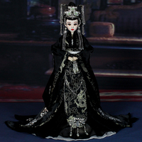 Free Shipping Boutique Dolls 12 Inch Handmade Embroidery Chinese Doll Statue Best Girl Toys 103