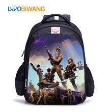لوبيوانغ لعبة معركة رويال الأطفال حقيبة مدرسية شخصية للرسوم المتحركة الشهيرة على ظهره للمراهقين الفتيان والفتيات Mochila Infantil
