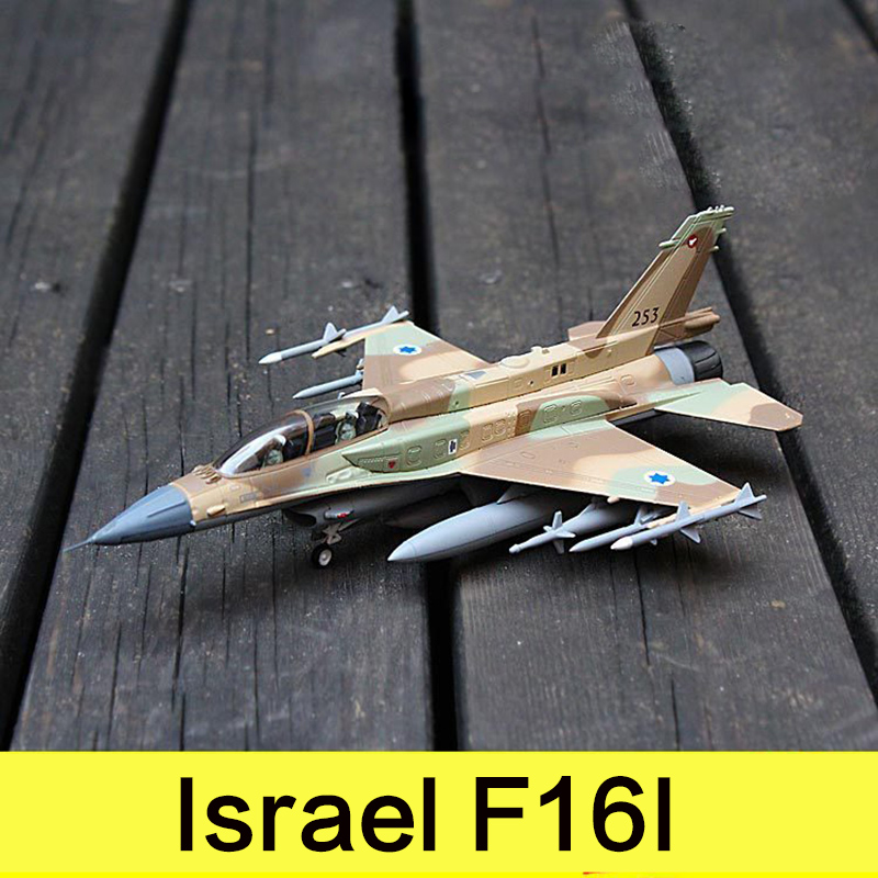 Military Alloy Airplane Model Fighter Israel F16I Thunderstorm Second World War Classical Flighter Diecast Scale Model Toys 1:72 military alloy airplane model fighter israel f16i thunderstorm second world war classical flighter diecast scale model toys 1 72