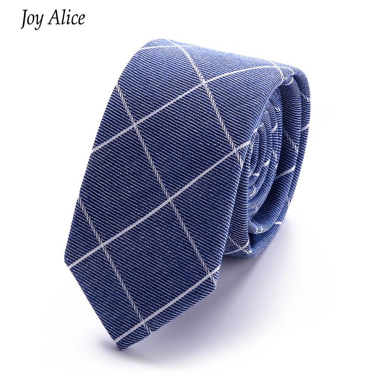 märke 2018 New Arrival Gentlemen slips Slipsar 6 cm bomull Mode - Kläder tillbehör - Foto 2