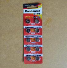 10 pcs/lot Panasonic 1.5 V AG10 LR1130 Alcaline AG10 389 LR54 SR54 SR1130W 189 LR1130 Bouton Pile Bouton Piles LR 1130