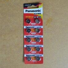 10pcs/lot Panasonic 1.5V AG10 LR1130 Alkaline AG10 389 LR54 SR54 SR113
