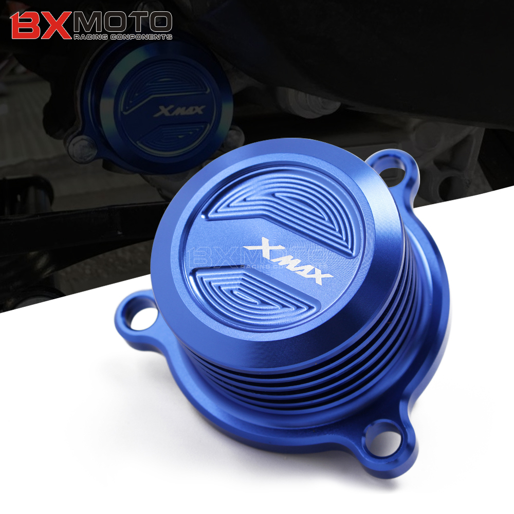 Motorcycle Modified parts CNC water oil fuel tank cooling radiating cover cap For Yamaha XMAX X-MAX 125 250 300 400 for yamaha nmax 155 n max155 n max 155 2015 2016 motorcycle parts oil cover of the tank alloy fuel tank cap red
