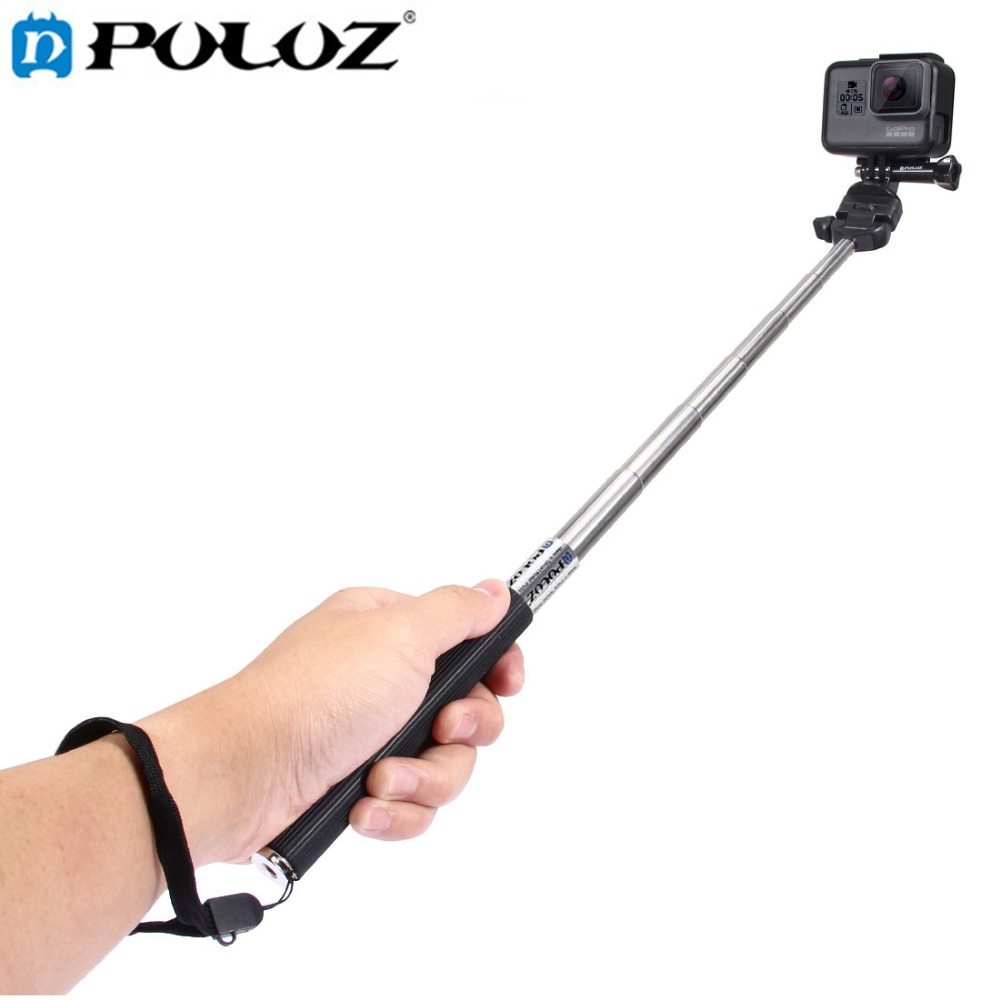 PULUZ For Go Pro Accessories Extendable Handheld Selfie