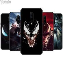 Marvel Venom Super Hero Black Case for Oneplus 7 Pro 6 6T 5T Soft Cover Shell 7Pro Silicone Phone