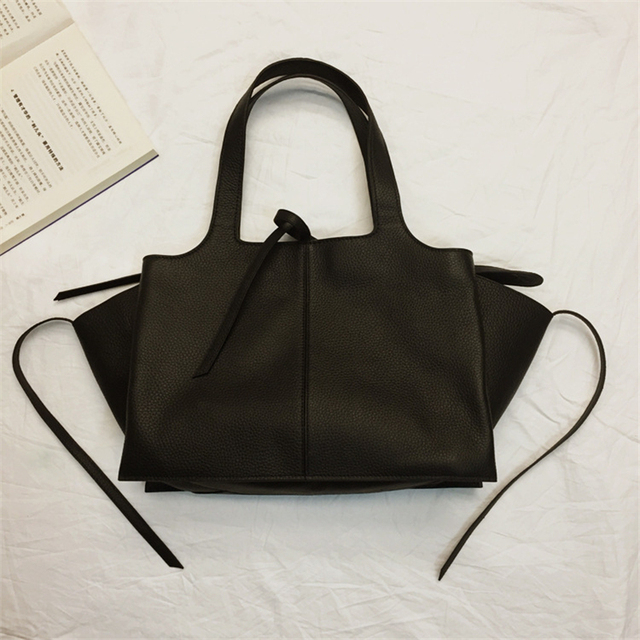Boutique 2017 Catfish Large Tze Tote Bags Handbags Women Famous Brands Genuine Leather Zipper Luxury Designer