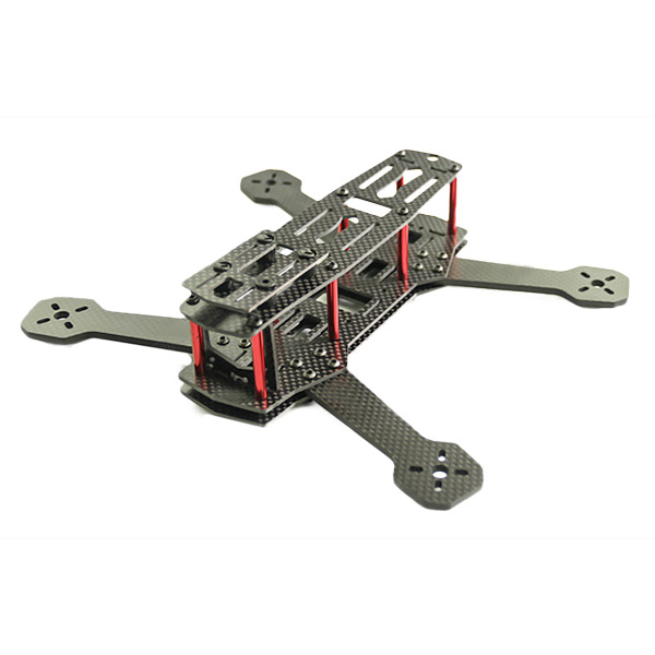 ФОТО ZMR250 V2 Carbon Fiber Frame Kit 4.0mm Arm Thickness Support 1806 2204 2206 Power