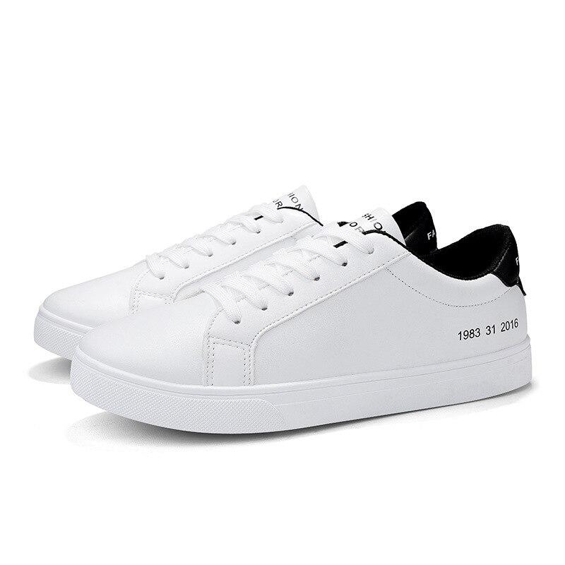 2019 Spring White Shoes Men Casual Shoes Male Sneakers Cool Street Men Shoes Brand Man Footwear KA793 4