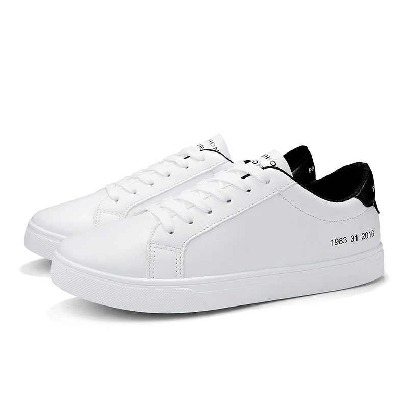 Detail Feedback Questions About 2019 Spring White Shoes Men Casual