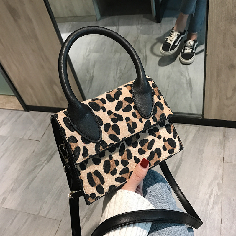 LANMREM 2019 Small Bag Woman New Korean All-match Leopard Oblique Satchel Personality Package Fashion Print Handbag YE870 Сумка